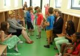giffey_raemer_einweihung hort-garderobentrakt_regenbogen-schule neukoelln