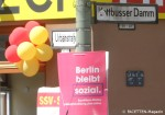 spd-wahlplakat berlin bleibt sozial