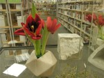 blume-keramikvase_werkausstellung-dritter-fruehling_stadtbibliothek-neukoelln